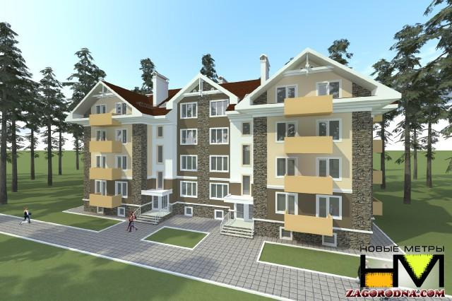 Buy an apartment in a new building Vanguard on Lesnoy