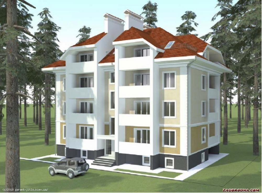 Buy an apartment in a new building New building on Lesnaya in Irpen
