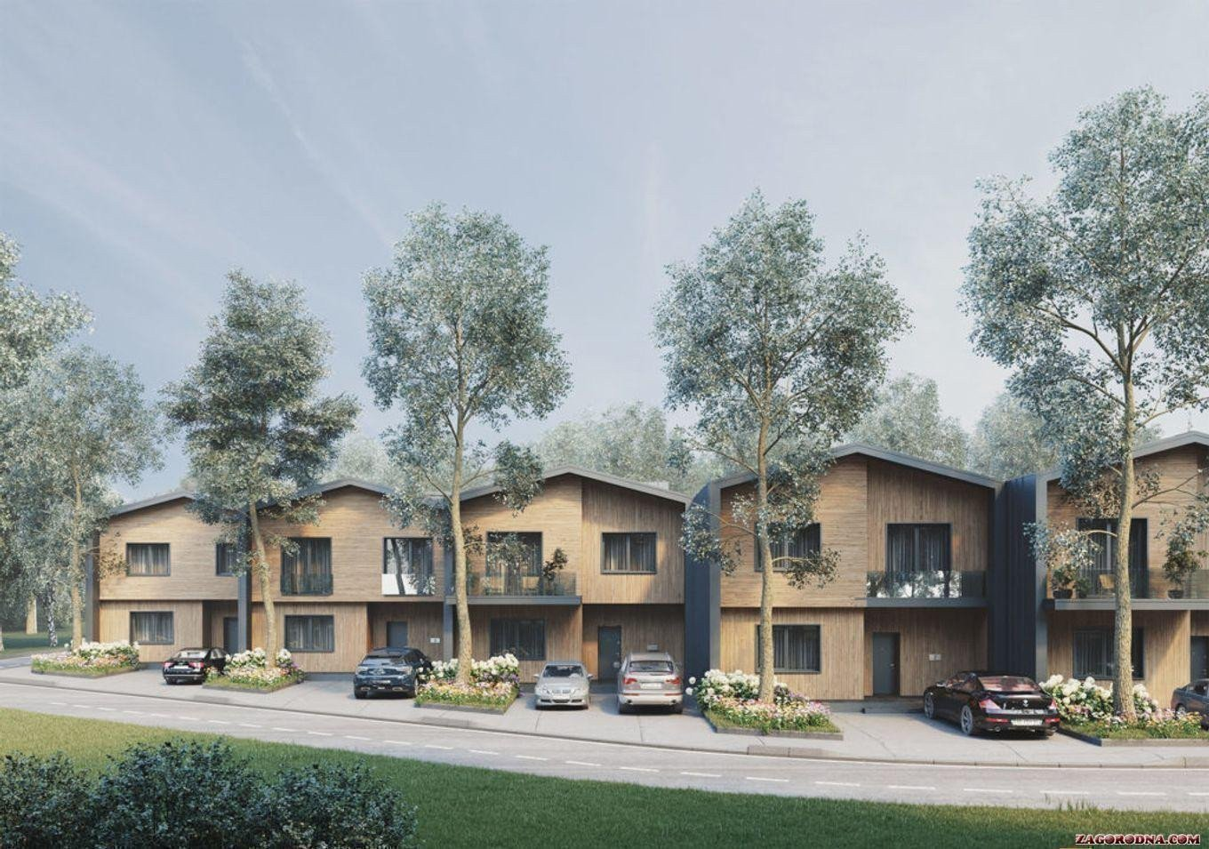 Buy a cottage town «Comfort City Lagoon» townhouses