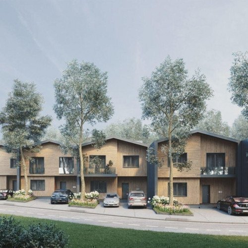 «Comfort City Lagoon» townhouses. Photo