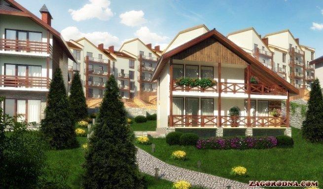 Buy a cottage town Slonovaya Gora cottage town