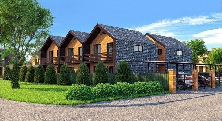 Buy a cottage town Townhouse «Comfort»