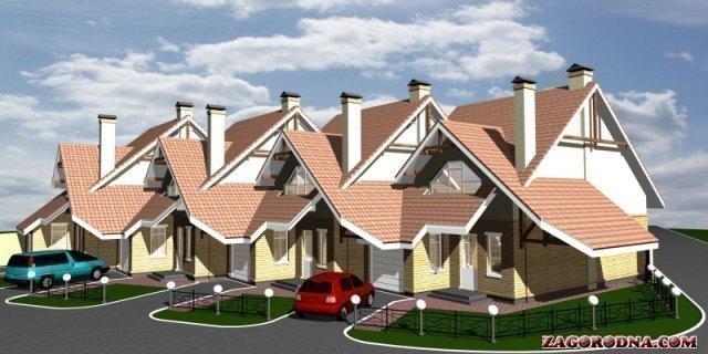 Купить котеджный городок Таунхаус в Петровском