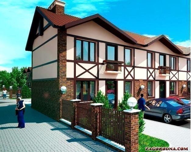 Купить котеджный городок Вишневый дом таунхаусы