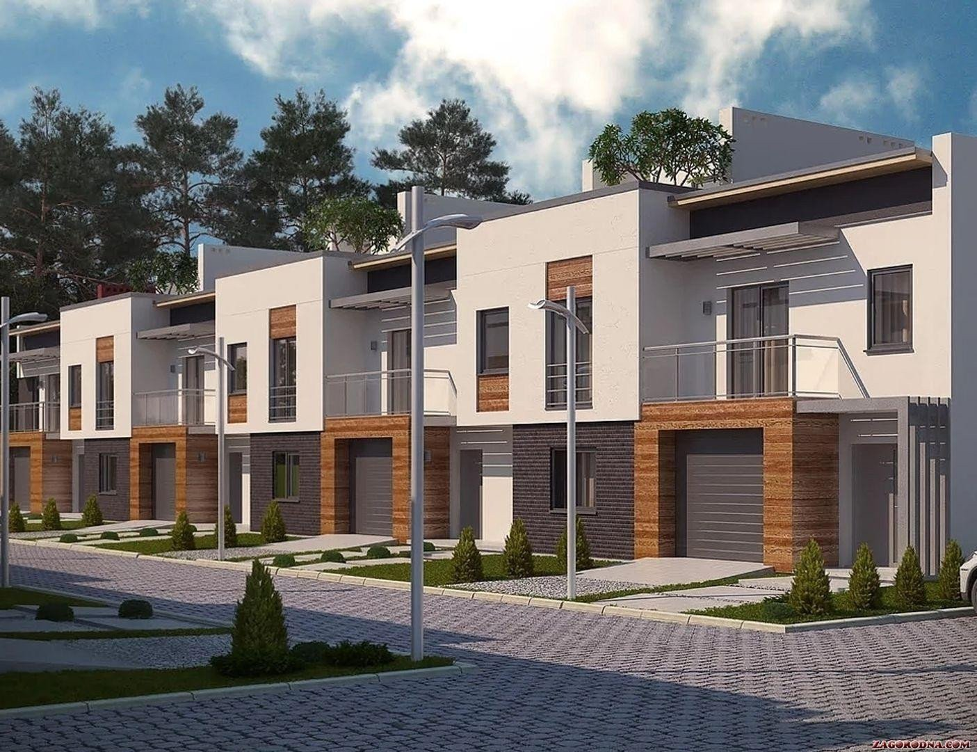 Buy a cottage town «Amber City» townhouses