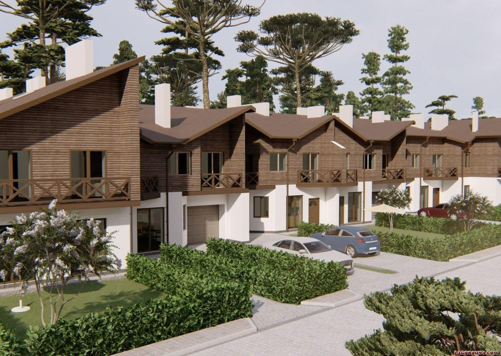 Buy a cottage town Bruhsell townhouses