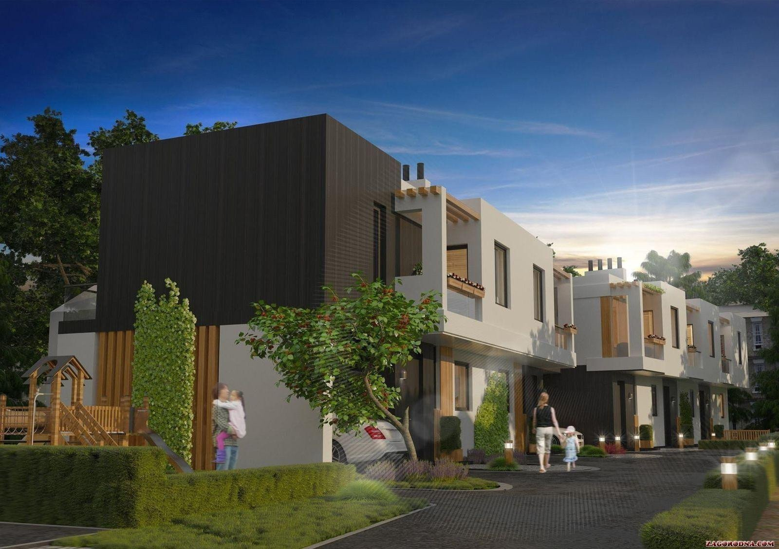 Buy a cottage town Dynasty Townhouses