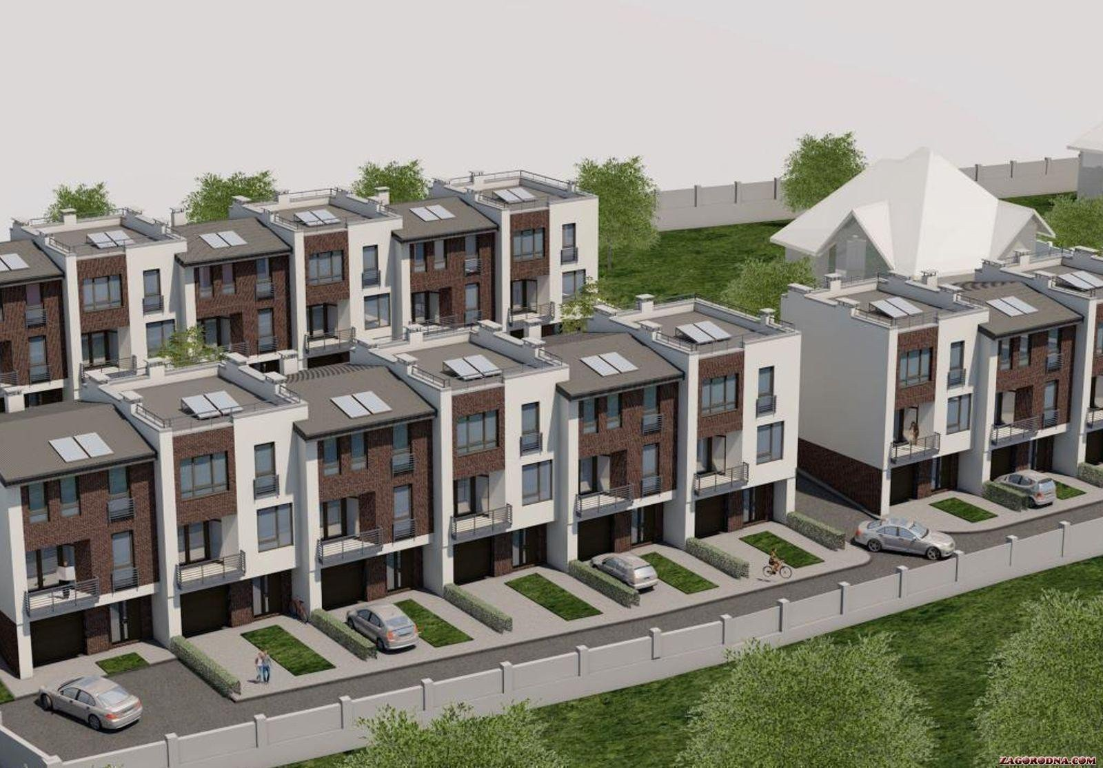 Buy a cottage town Townhouses in Zubra