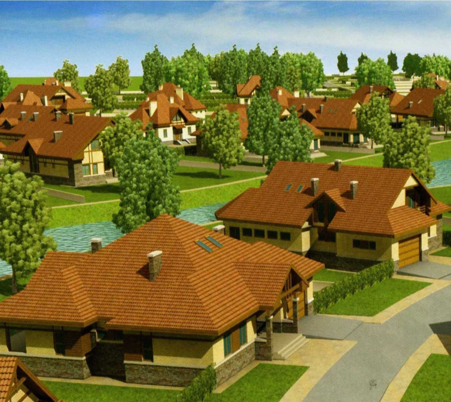 Buy a cottage town Severinovka cottage town