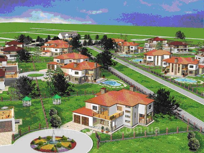 Купити котеджне містечко Ясна Поляна котеджне містечко
