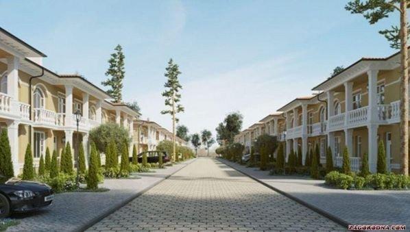 Buy a cottage town «Sanzheyka luxury» cottage town
