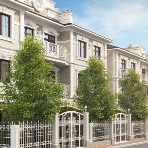 Photo: «Senator Club Residence» townhouses