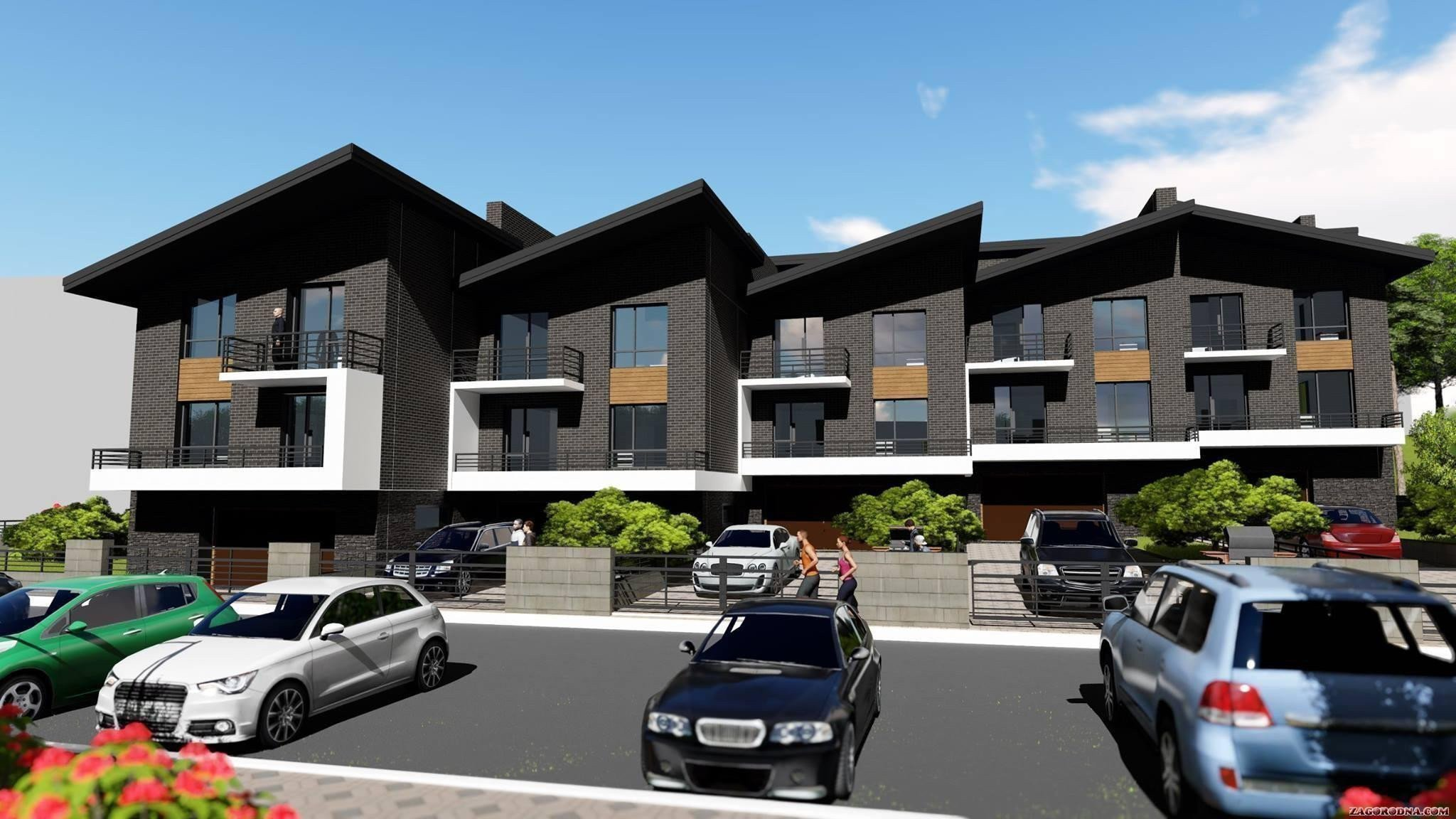 Buy a cottage town «Geneva» townhouses