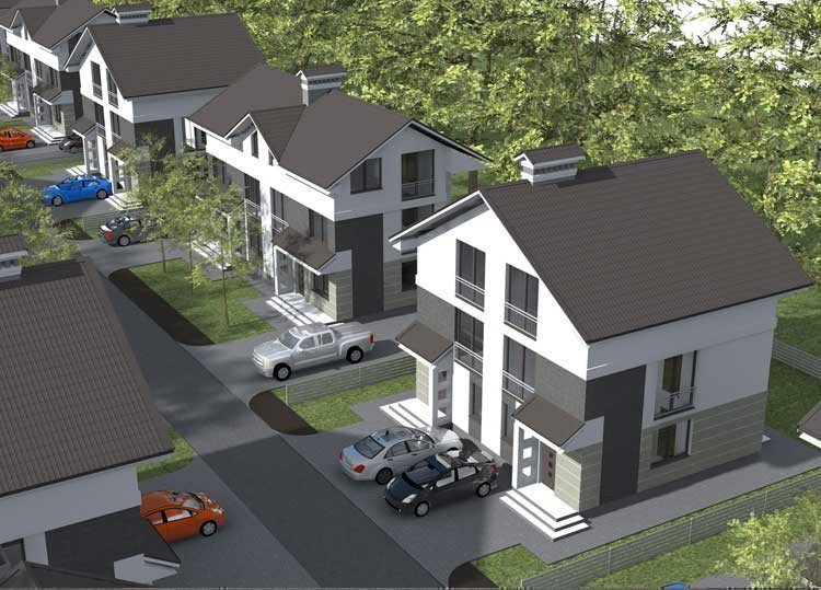 Buy a cottage town Townhouses in Chubinskoe