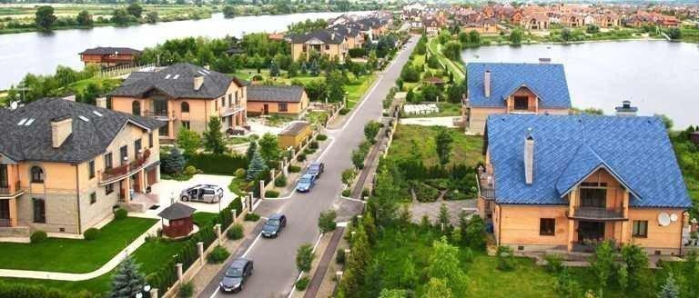 Купить котеджный городок Вишневе містечко коттеджный городок
