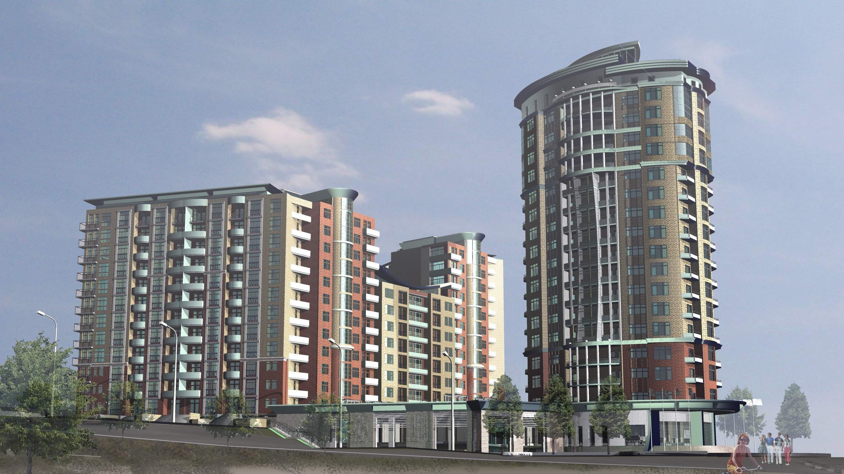 Buy an apartment in a new building New construction project in Obukhov