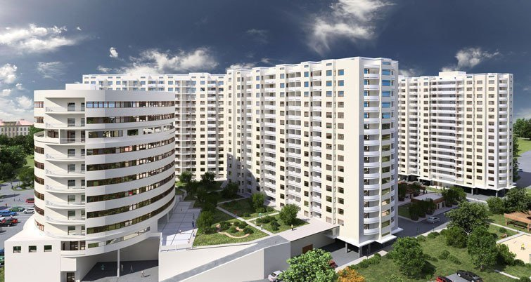 Buy an apartment in a new building Alta City