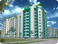 Buy an apartment in a new building New building on Novoproereznaya in Borispol
