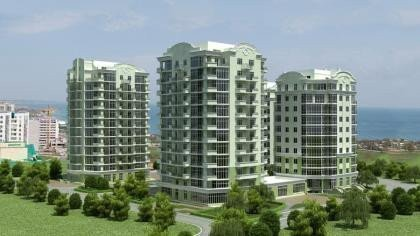 Buy an apartment in a new building European residential comlex