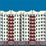 Buy an apartment in a new building New building in Kagarlyk