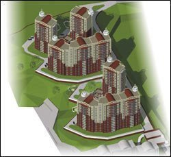 Buy an apartment in a new building Apartments in a new building in Kurguzova