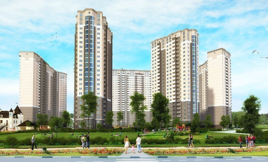 Buy an apartment in a new building The forest quarter