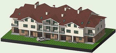 Buy a cottage town Project of townhouses in Belogorodka