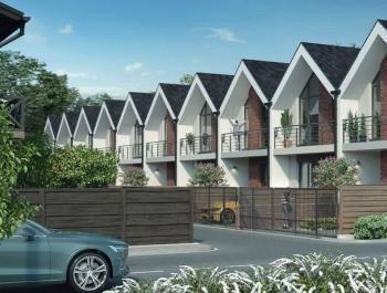 Таунхаусы «Scandi House 2» поселок таунхаусов эконом-класса картинка