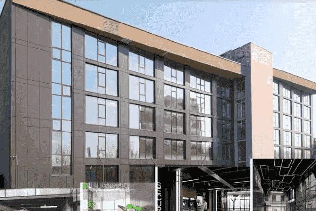 Картинка: новый профессиональный бизнес-центр Ampere Hall