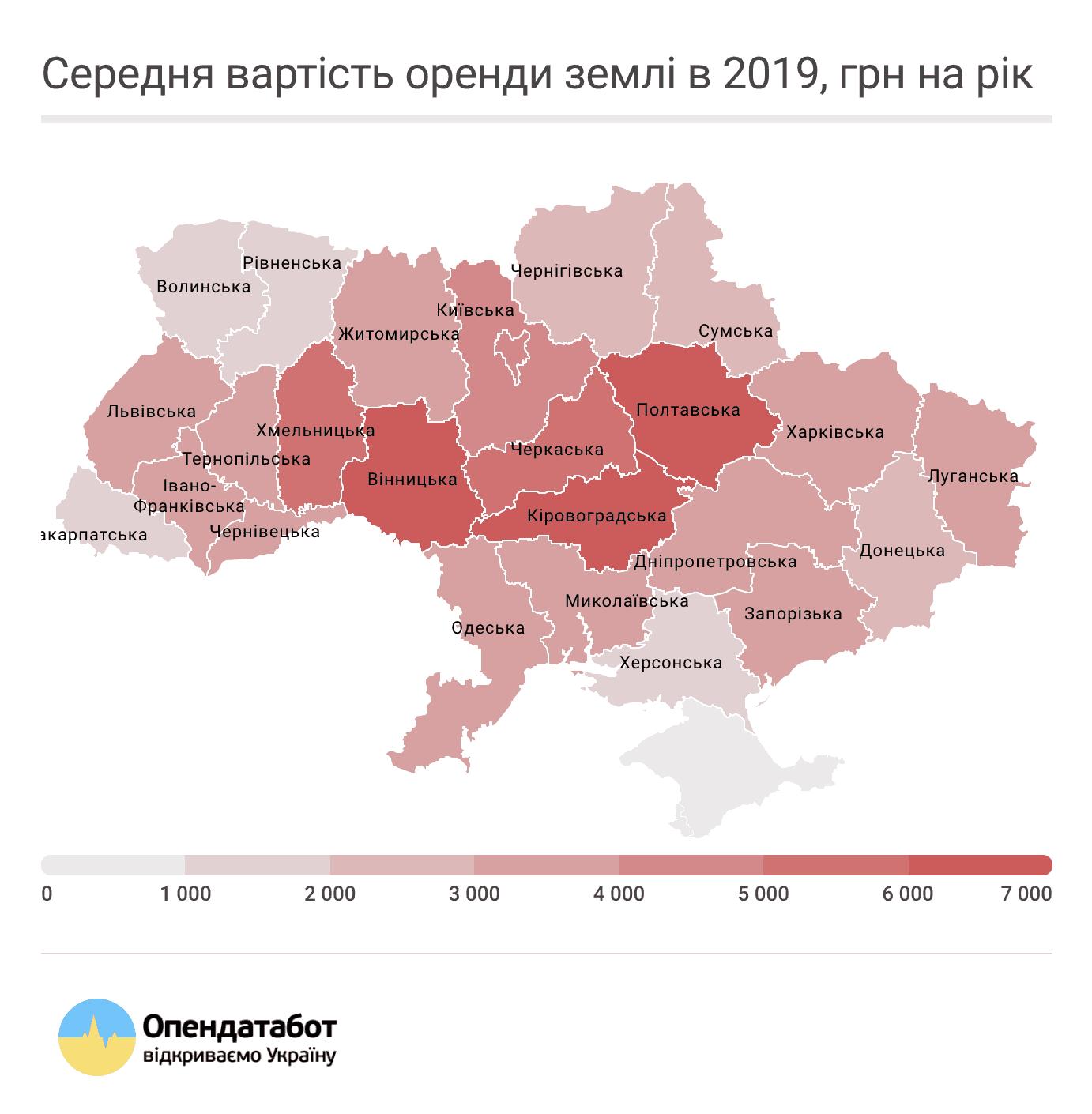 Картинка: Оренда землі в Україні не дорожчає більш 3 років