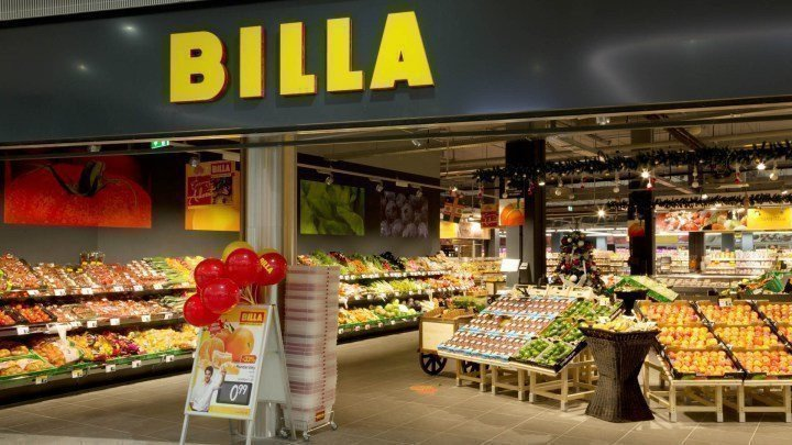 приобрести супермаркеты Billa картинка