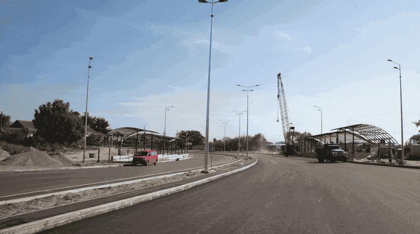 Як будують нову частину Великої кільцевої дороги в Києві