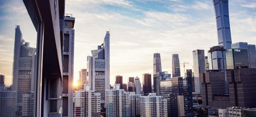 Картинка: поток инвестиций в недвижимость Китая