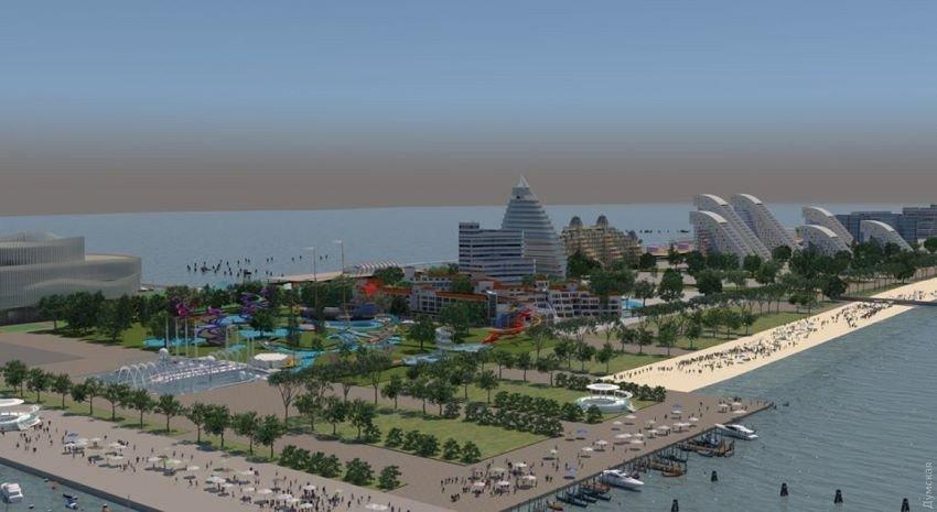 Картинка: В Одеській області побудують місто-курорт на 80 готелів