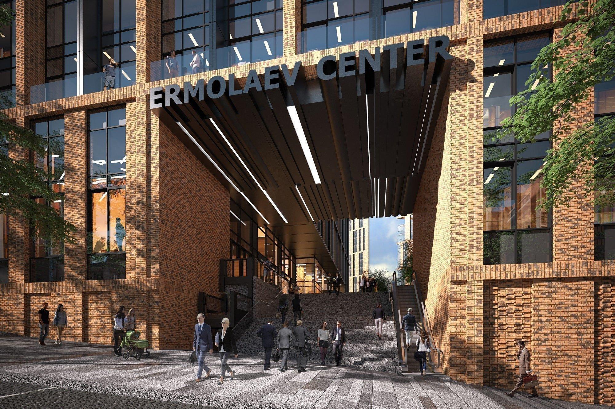 Картинки: построит в Днепре многофункциональный Ermolaev Center
