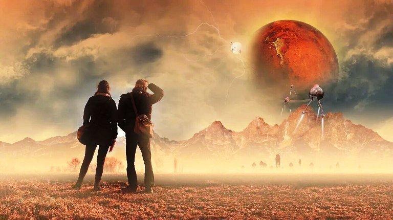 автономне місто на Марсі картинка