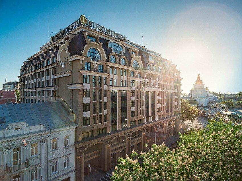 Картинка: InterContinental Kyiv сообщил о приостановке работы