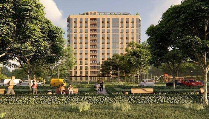 Картинка: Строительство многоквартирного жилого дома для переселенцев в Краматорске
