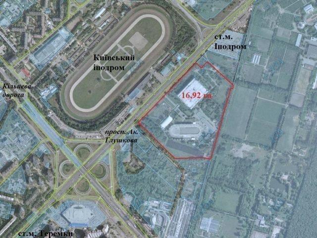 На территории Ледового стадиона появится новый ТРЦ Алиева картинка
