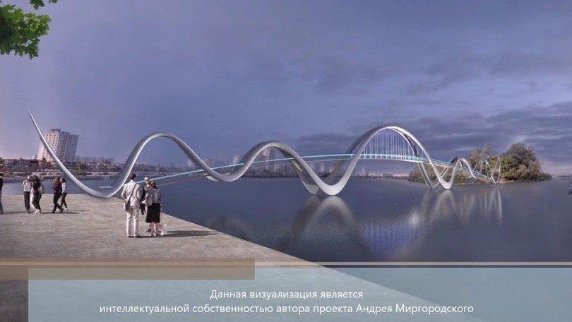 Картинка: На Оболоні побудують новий пішохідний міст