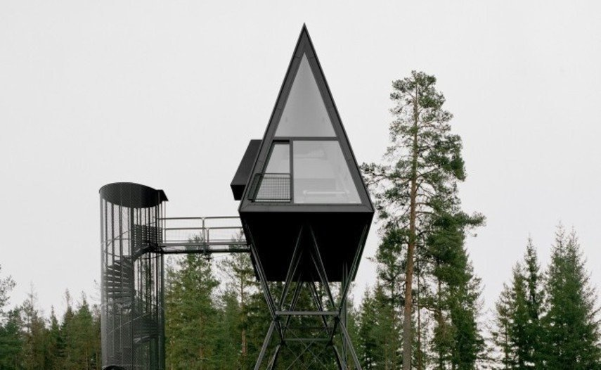 Нестандартні будинки туристам пропонує Норвегія