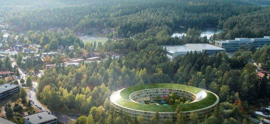 У Норвегії зводять будинки, які виробляють енергію