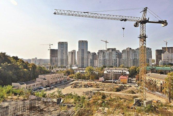 У Києві просіло введення в експлуатацію готових новобудов картинка
