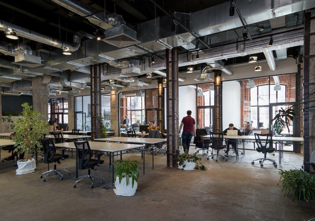 Картинка: снизился спрос на офисные помещения