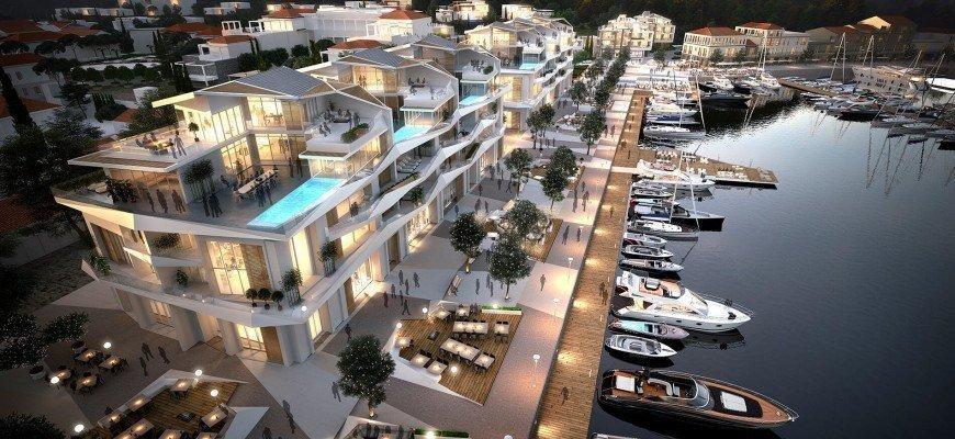 Ціни на житло в найбільшому проекті Чорногорії досягають € 15 млн