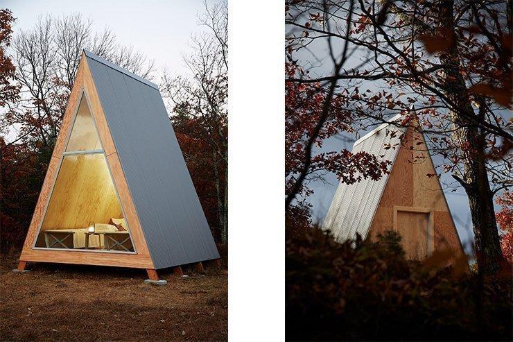 Архітектори пропонують усамітнюватися у збірних будиночках картинка