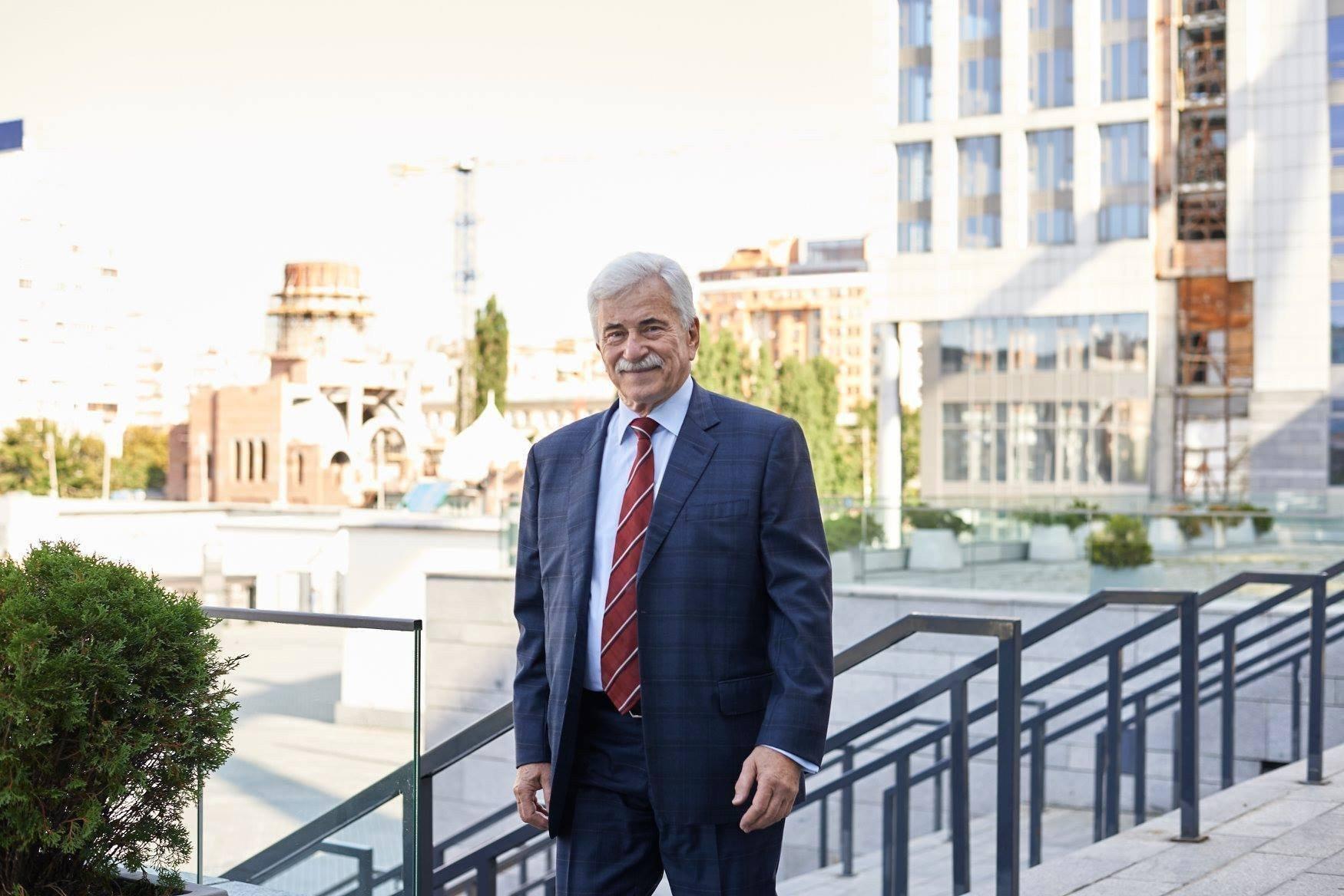 председатель совета директоров Конфедерации строителей Украины Александр Ротов