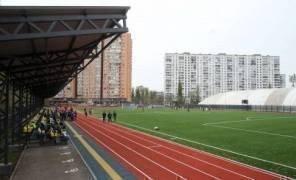 В Киеве открыли бесплатный современный стадион