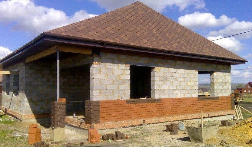 Фото: строительство дома