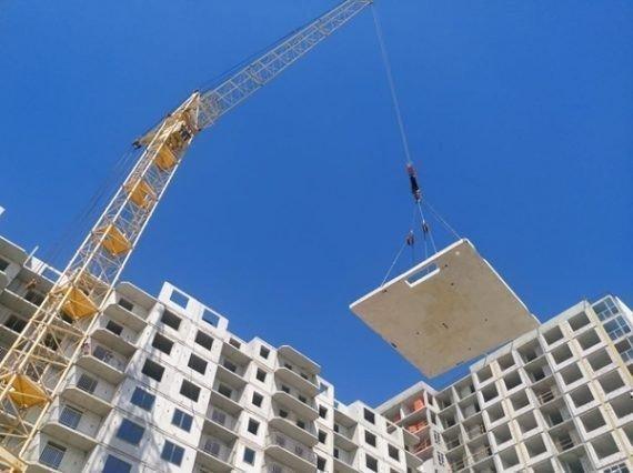 Картинка: В Украине стали меньше строить жилья